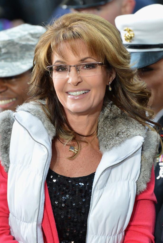 Sarah Palin The Celebrity Puffy Vest Gilet Bodywarmer